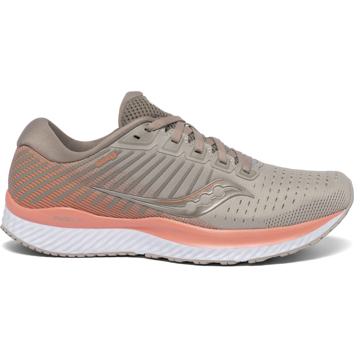 Scarpe Running Saucony Donna Guide 13 In Moonrock/Corallo IT49537