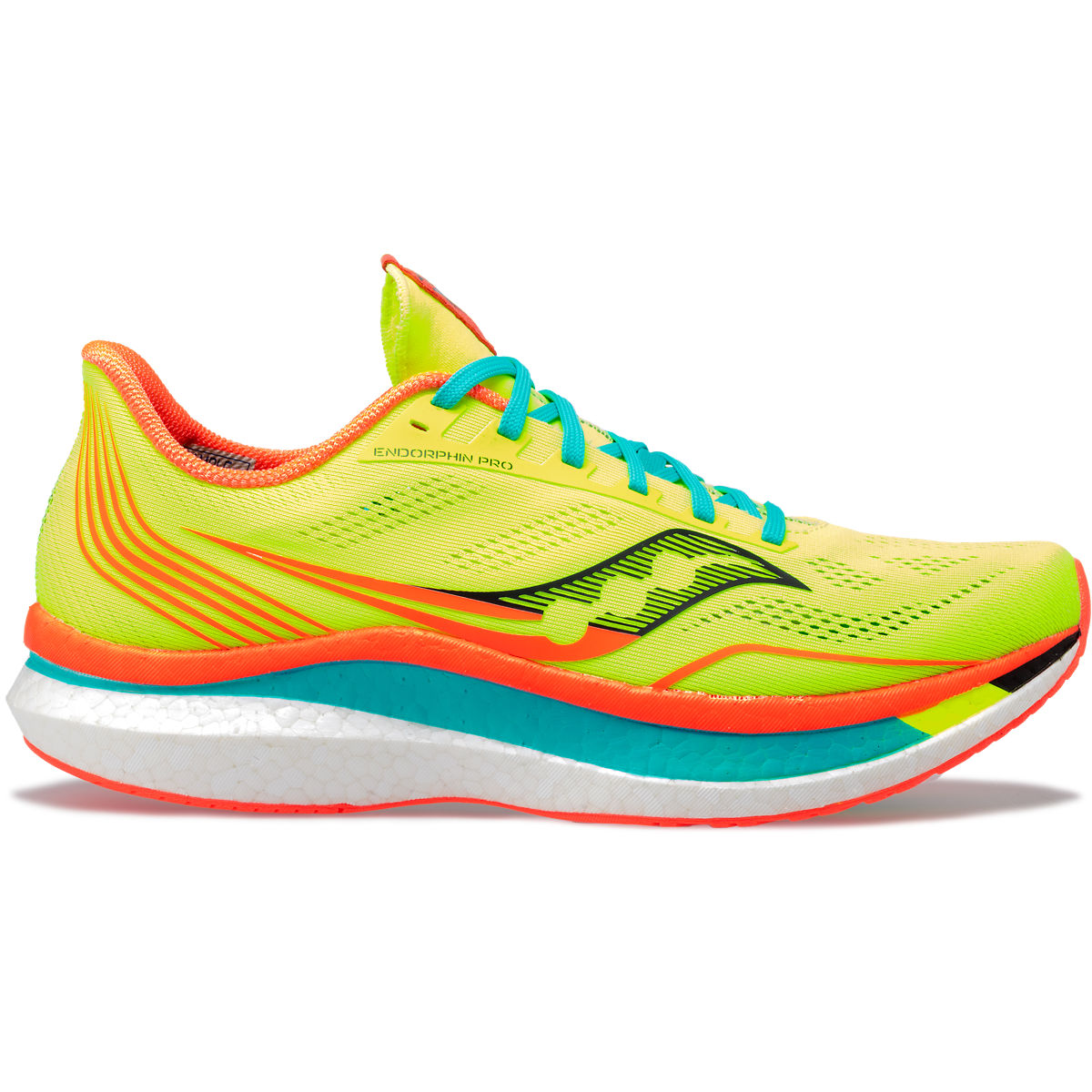 Scarpe Running Saucony Uomo Endorphin Pro In Gialle Fluo IT28692