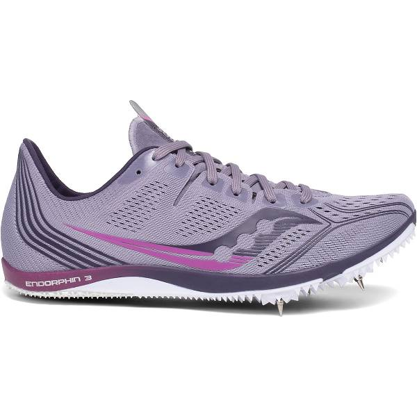 Scarpe Chiodate Saucony Donna Endorphin 3 In Viola IT01941
