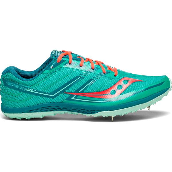 Scarpe Chiodate Saucony Donna Kilkenny XC7 Spike In Verde IT95601