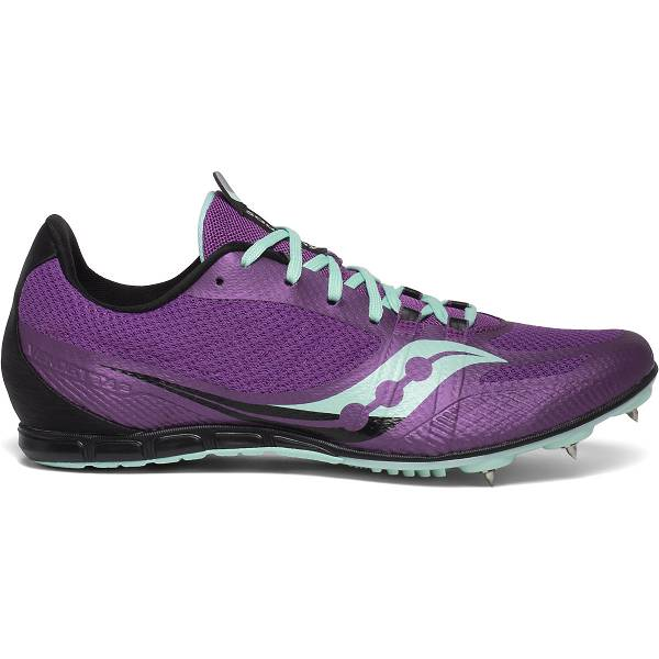 Scarpe Chiodate Saucony Donna Vendetta 3 In Viola IT24608