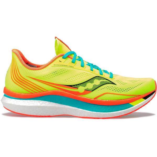 Scarpe Running Saucony Donna Endorphin Pro In Gialle Fluo IT41236