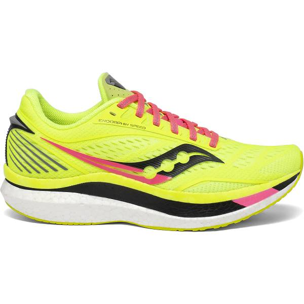 Scarpe Running Saucony Donna Endorphin Speed In Gialle Fluo IT23797