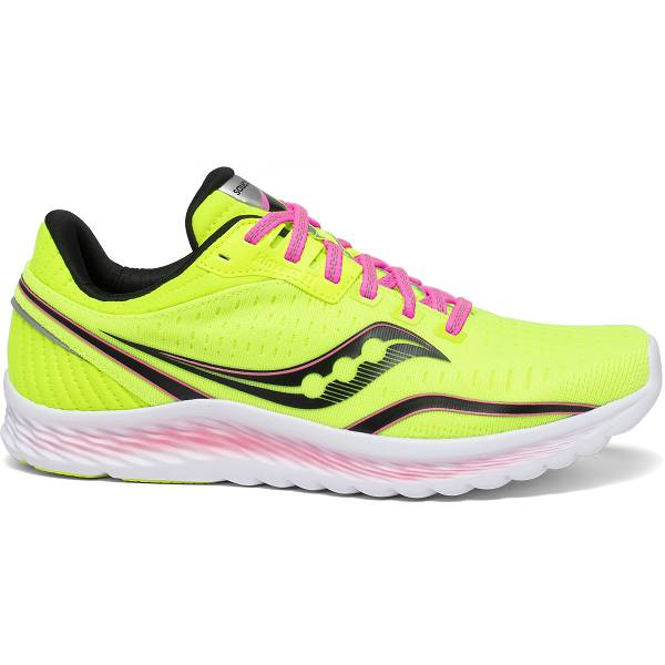 Scarpe Running Saucony Donna Kinvara 11 In Gialle Fluo IT05237