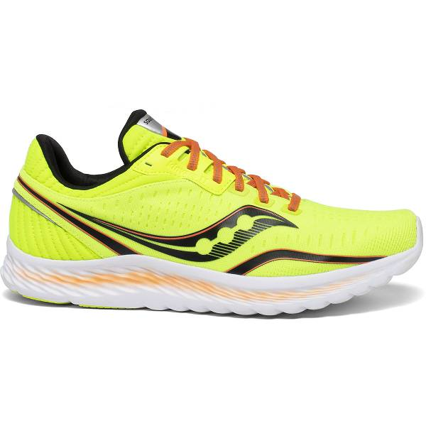 Scarpe Running Saucony Uomo Kinvara 11 In Gialle Fluo IT24052