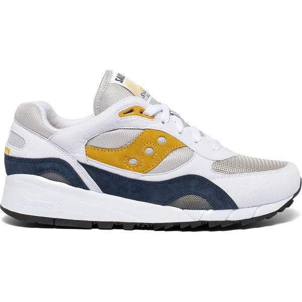 Scarpe Running Saucony Uomo Shadow 6000 In Bianche/Oro IT45866